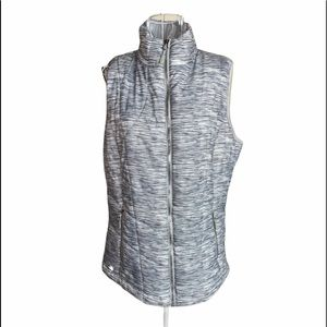 Ideology Puffy Zip Up Quilted Athletic Vest Size S